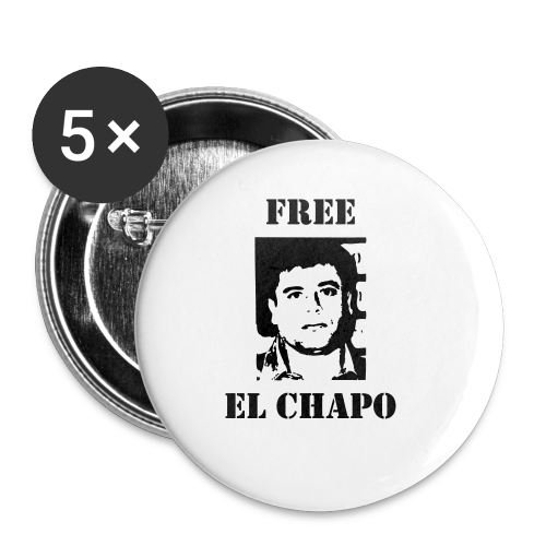 Free El Chapo - Small Buttons