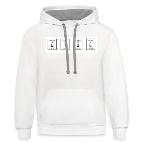 UIUC Elements Shirts - Contrast Hoodie