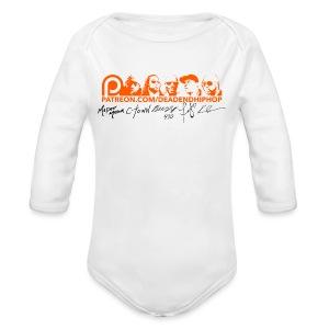 Women's Patreon Supporter Signature - Long Sleeve Baby Bodysuit