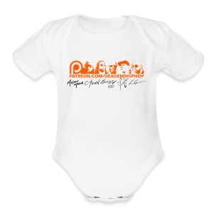 Women's Patreon Supporter Signature - Short Sleeve Baby Bodysuit