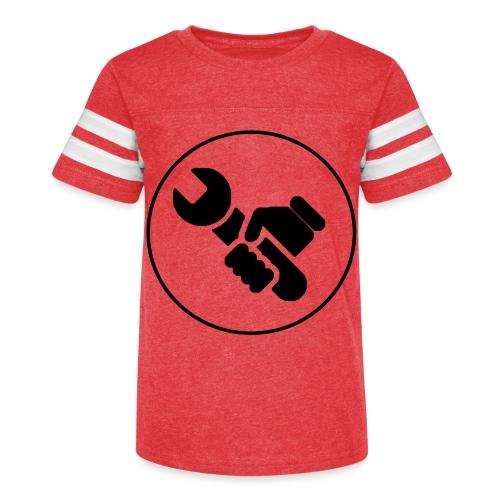 Mens Spanner White - Kid's Vintage Sport T-Shirt