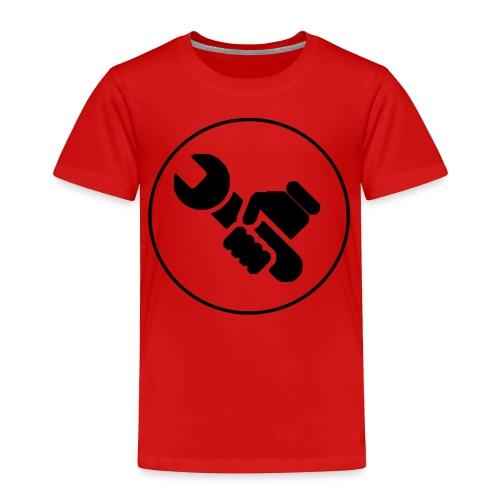Mens Spanner White - Toddler Premium T-Shirt