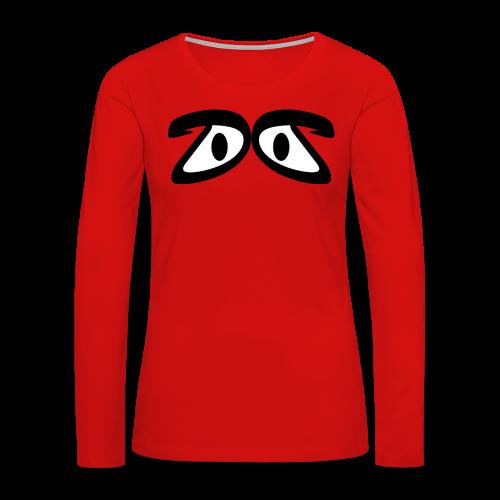 DubbelDutch T-shirt - Women's Premium Long Sleeve T-Shirt