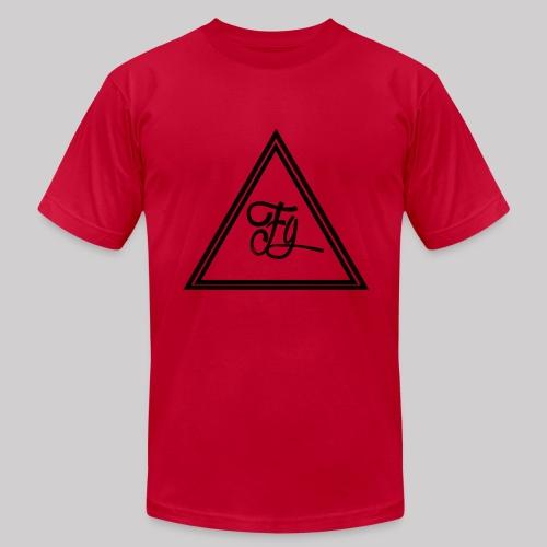 FG Hoodie middle logo - Men's Fine Jersey T-Shirt