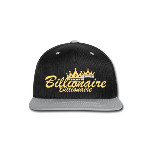 The Billionaire T-shirt - Snap-back Baseball Cap
