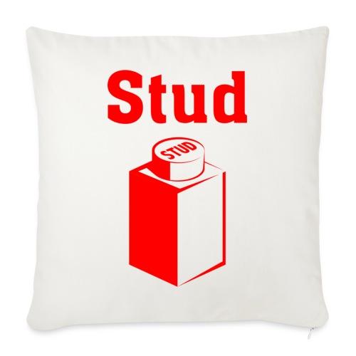 STUD - Men's Tee - Throw Pillow Cover