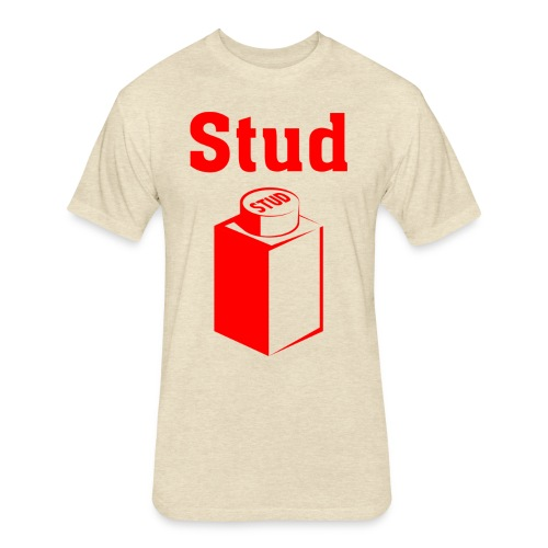 STUD - Men's Tee - Fitted Cotton/Poly T-Shirt by Next Level