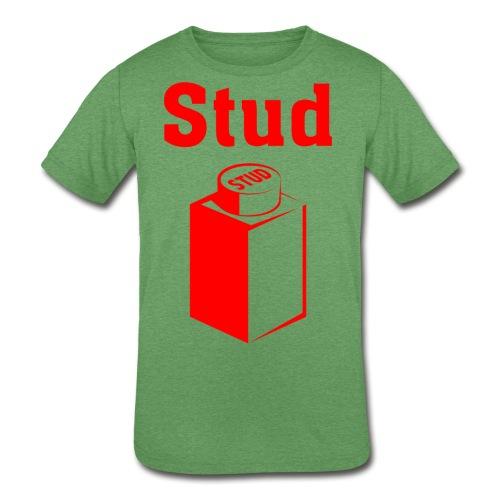 STUD - Men's Tee - Kid's Tri-Blend T-Shirt
