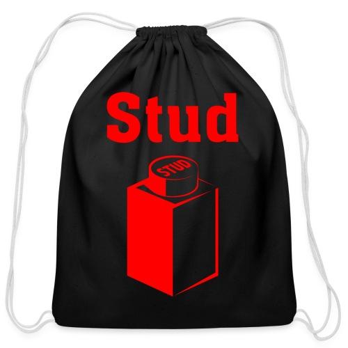 STUD - Men's Tee - Cotton Drawstring Bag