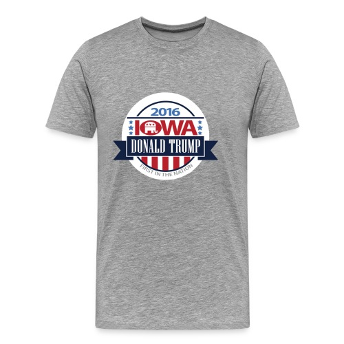 Trump Iowa Hoodie - Men's Premium T-Shirt