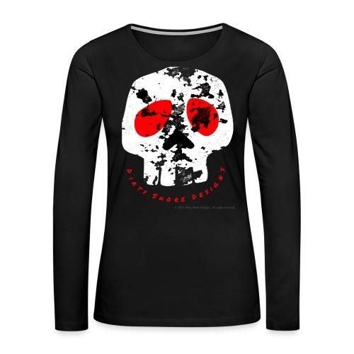 Women's Dirty Shore Designs shirt - Women's Premium Long Sleeve T-Shirt