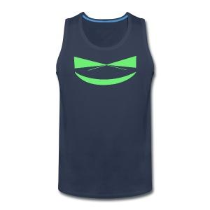 The Smile of a Noob Men's T-Shirt - Men's Premium Tank