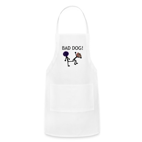 Bad Dog! Women's T-Shirt - Adjustable Apron