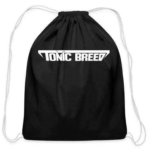 Tonic Breed logo - Unisex - Cotton Drawstring Bag