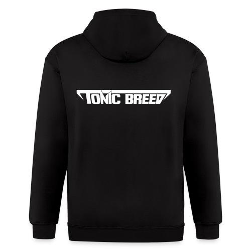 Tonic Breed logo - Unisex - Men's Zip Hoodie