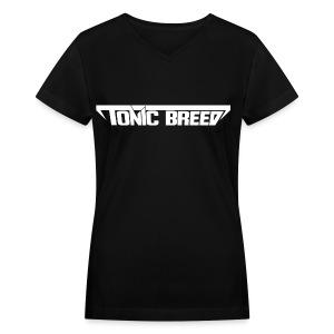 Tonic Breed logo - Unisex - Women's V-Neck T-Shirt