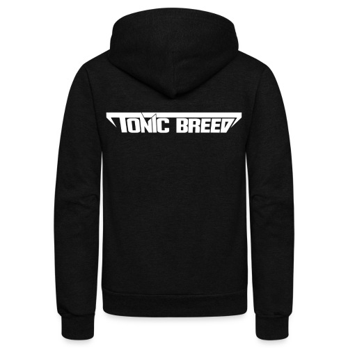 Tonic Breed logo - Unisex - Unisex Fleece Zip Hoodie