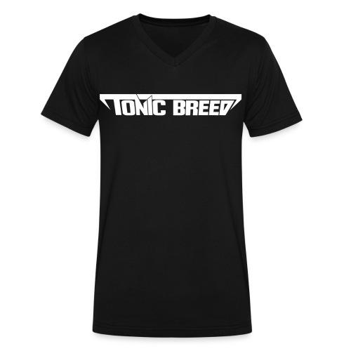 Tonic Breed logo - Unisex - Men's V-Neck T-Shirt by Canvas