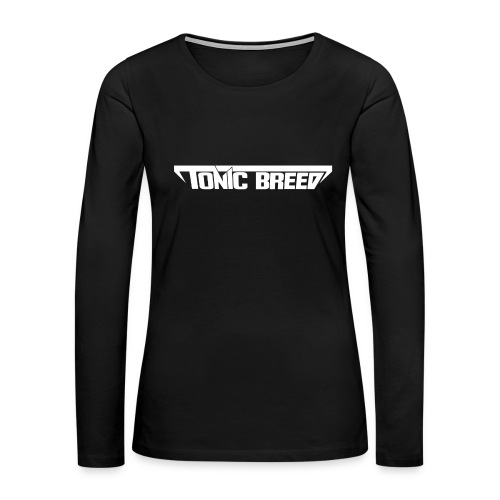 Tonic Breed logo - Unisex - Women's Premium Long Sleeve T-Shirt