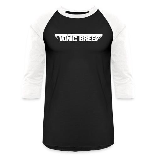Tonic Breed logo - Unisex - Baseball T-Shirt