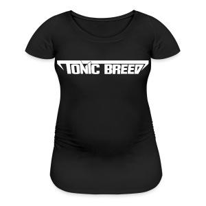 Tonic Breed logo - Unisex - Women's Maternity T-Shirt