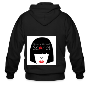 The Scarlet Tote - Men's Zip Hoodie