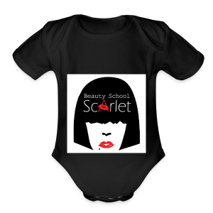 The Scarlet Tote - Short Sleeve Baby Bodysuit