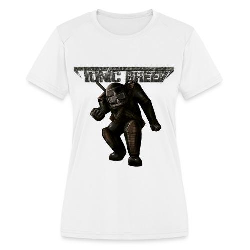Tonic Breed Warrior - Unisex - Women's Moisture Wicking Performance T-Shirt
