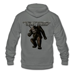 Tonic Breed Warrior - Unisex - Unisex Fleece Zip Hoodie by American Apparel