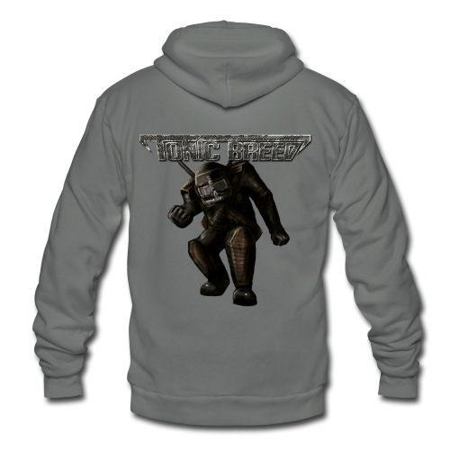 Tonic Breed Warrior - Unisex - Unisex Fleece Zip Hoodie