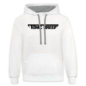 Tonic Breed logo - Unisex - Contrast Hoodie
