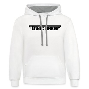 Tonic Breed Logo - Woman - Contrast Hoodie