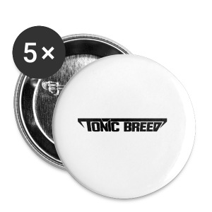 Tonic Breed Logo - Woman - Small Buttons