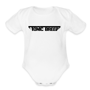 Tonic Breed Logo - Woman - Short Sleeve Baby Bodysuit