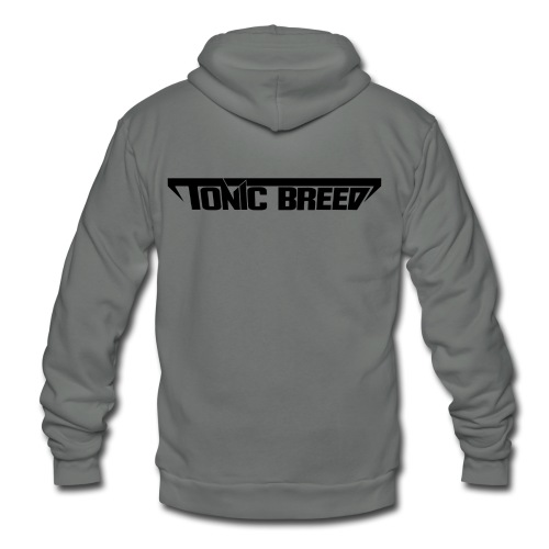 Tonic Breed Logo - Woman - Unisex Fleece Zip Hoodie