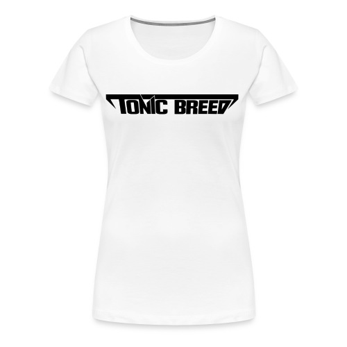 Tonic Breed Logo - Woman - Women's Premium T-Shirt