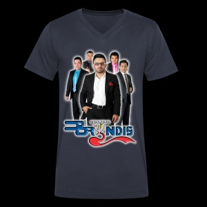 Grupo Bryndis - Enero 2016 - Hombres - Men's V-Neck T-Shirt by Canvas