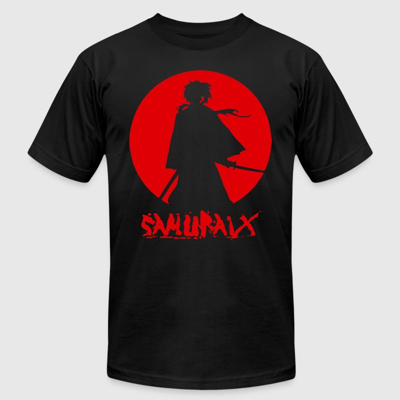 samurai x  - Men's T-Shirt by American Apparel