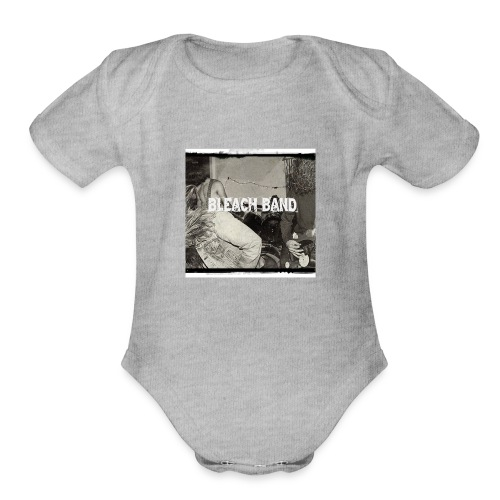 BleachBand Baby contrast - Organic Short Sleeve Baby Bodysuit
