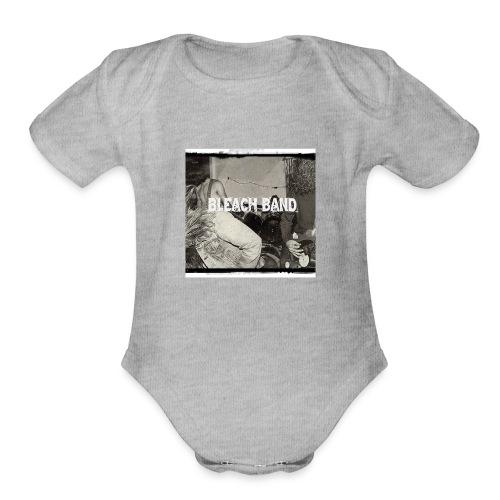 BleachBand Baby contrast - Organic Short Sleeve Baby Bodysuit