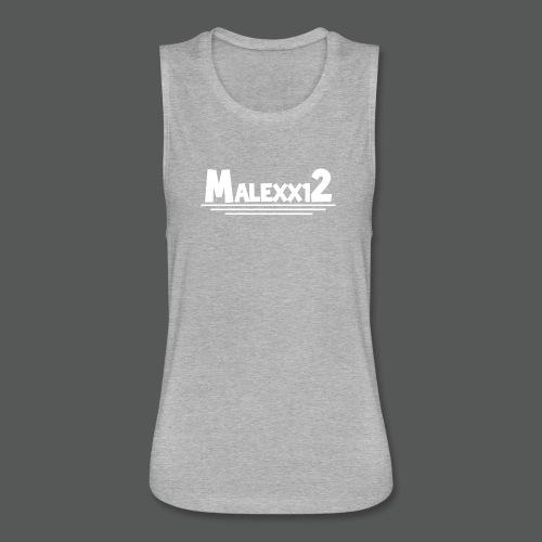Tie Dye Mens logo T-Shirt - Women's Flowy Muscle Tank by Bella