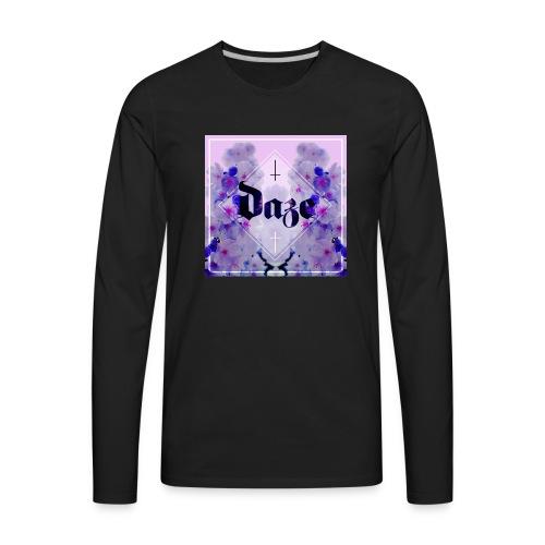 DAZE Balance Crewneck - Men's Premium Long Sleeve T-Shirt
