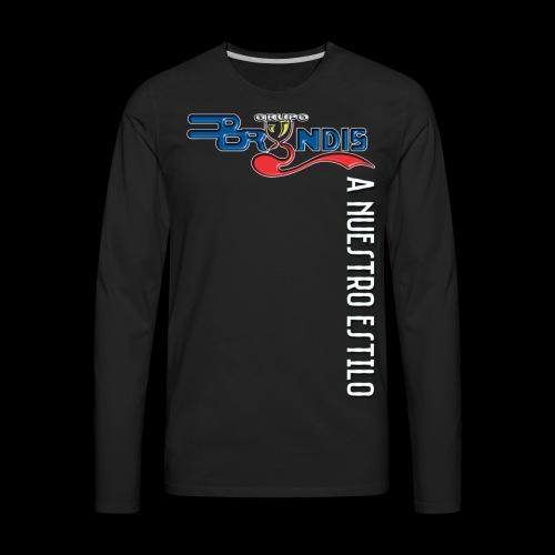 A Nuestro Estilo - Men's Premium Long Sleeve T-Shirt