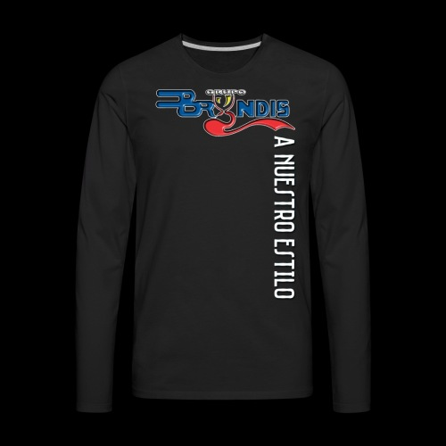 A Nuestro Estilo - Men's Premium Long Sleeve T-Shirt