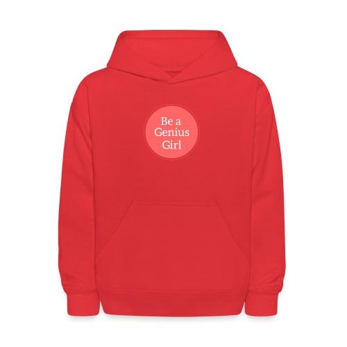 Be a Genius Girl Logo Onsie - Kids' Hoodie
