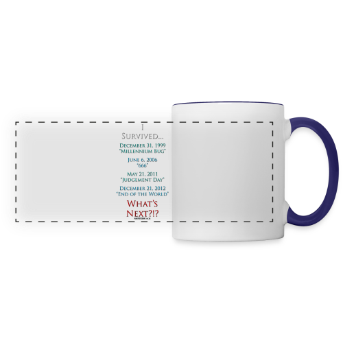 I Survived... What Next?!? - Panoramic Mug