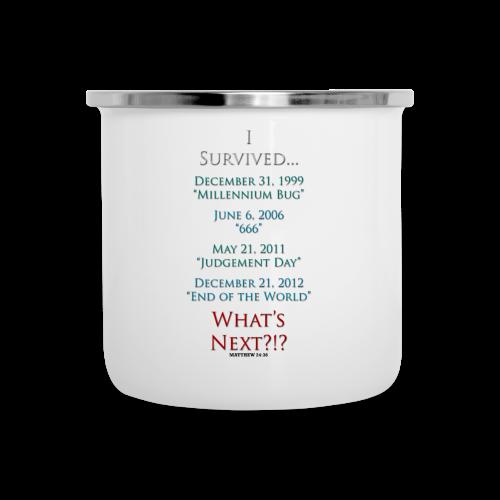 I Survived... What Next?!? - Camper Mug
