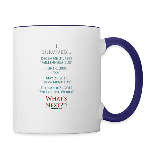 I Survived... What Next?!? - Contrast Coffee Mug