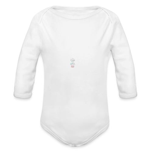 I Survived... What Next?!? - Organic Long Sleeve Baby Bodysuit