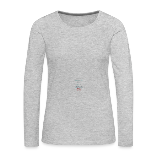 I Survived... What Next?!? - Women's Premium Long Sleeve T-Shirt